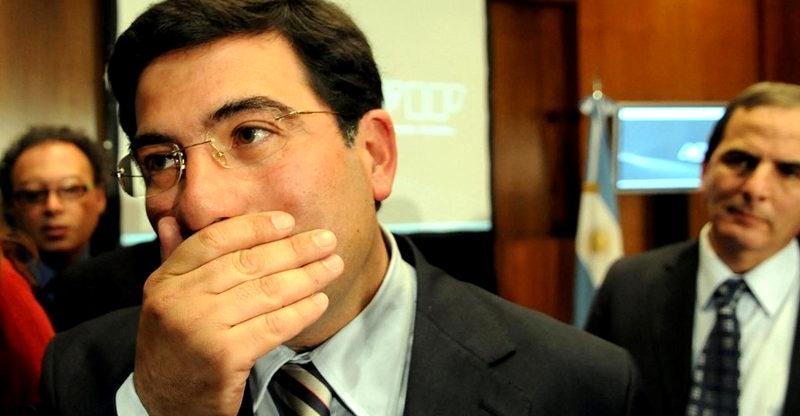 Ricardo Echegaray tres cuentas inhibidas