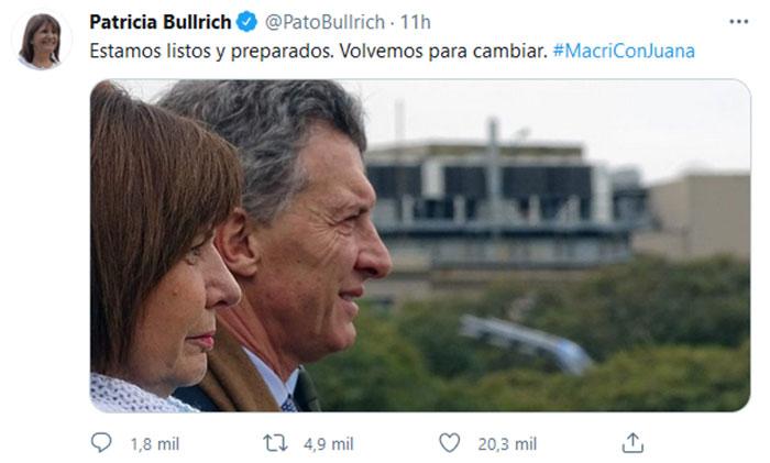 patricia-bullrich-tuit-macri-con-juana-completo